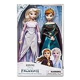 D Disney Store - Muñecas de la Reina de la Nieve de Anna y Elsa, Frozen 2