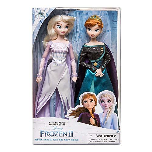 D Disney Store Queen Anna und ELSA die Schneekönigin Puppe Frozen 2