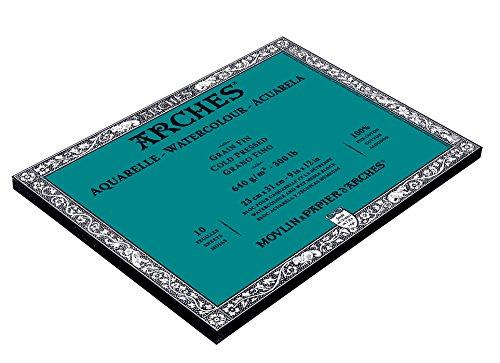 Arches Watercolor Block, Cold Press 9'X12', 9' x 12'