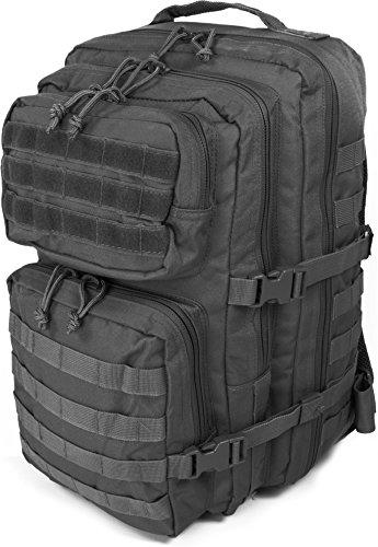 Multifunktionsrucksack für Uni Schule Sport und Freizeit in verschiedenen Größen Farbe Schwarz Größe 30 Liter