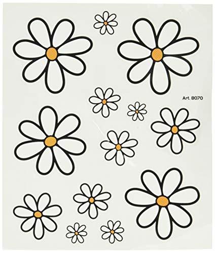 4R Quattroerre.it 8070 Aufkleber Blumen Gänseblümchen, 14 x 16 cm