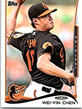 2014 Topps Series 1 Baseball #138 Wei-Yin Chen Baltimore Orioles Official MLB Trading Card