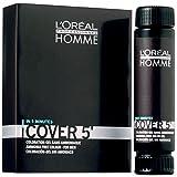 Lot de 3 Loreal HOMME Cover 5 No 5 châtain clair 50 ml