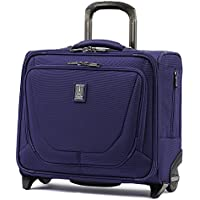 Travelpro Crew 11-Rolling Underseat Tote Carry-On Bag (Indigo)
