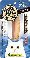 (まとめ買い)いなばペットフード CIAO 焼かつお ほたて味 1本 YK-02 猫用 【×24】
