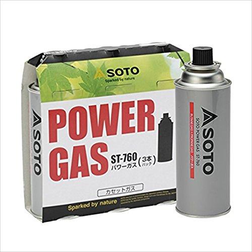 ソト(SOTO) パワーガス 3本パック ST-760 [HTRC 2.1]