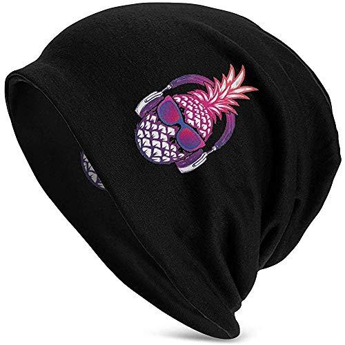 KO'Neil Wintermütze Warme Bequeme weiche Mütze Hüte Ananas Sunglases Kopfhörer Slouchy Skull Cap Ski Hat Unisex