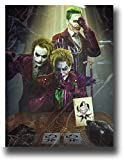 SSKJTC - Lienzo decorativo para pared (50,8 x 71 cm), diseño de Joker