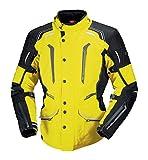 IXS Men's Criton Jacket (Hi-Viz Yellow/Black, XXX-Large)