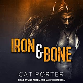 Iron & Bone audiobook cover art