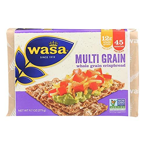 Wasa Crispbread Multigrain - Whole Grain - Case Of 12 - 9.7 Oz. 9.7 OZ