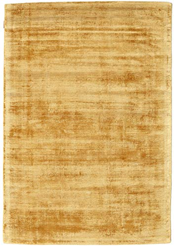 CarpetVista Alfombra Tribeca, Pelo Corto, 140 x 200 cm, Rectangular, Moderna, Seda Artificial, Cocina, Salón, Comedor,...