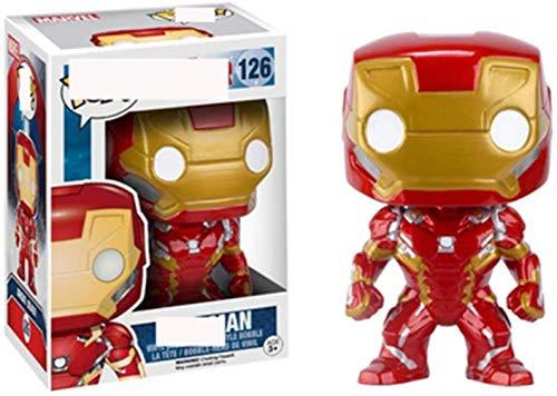 XVPEEN Modelo Marvel Capitán América: Civil War Iron Man, Personaje Animado Modelo Muñeca