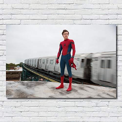 Hollywood Superheld Film Superpower Spider HD Print Poster Mann Kinderzimmer Kinderzimmer Bild Wohnkultur Zimmer Leinwand Malerei 40 * 70cm A.