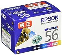 EPSON 純正インクカートリッジ  PX-201用4色パック IC4CL56