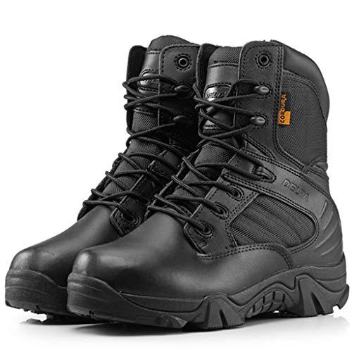 Herren Militärstiefel Polizeistiefel Armeekampfstiefel Armed Tactics Stiefel Sicherheitsstiefel Outdoor Wüstenwanderschuh Bergsteigen Leichte Schuhe,B,43