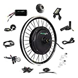"Best Electric Bike Conversion Kits - EBIKELING 48V 1200W 20"" Direct Drive Waterproof Electric Review"