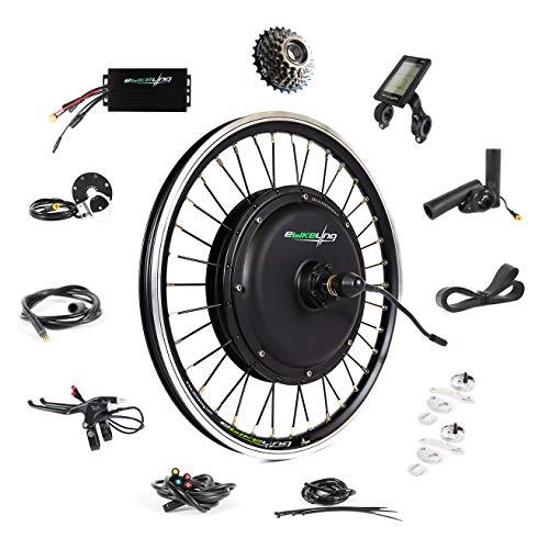 EBIKELING 48V 1200W 20' Direct Drive Waterproof Electric Bike Kit - Ebike Conversion Kit - Electric Bike Conversion Kit (Rear/LCD/Thumb)