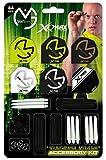 XQ MAX Unisex Dardos Michael Van GERWEN 84-Piece Dardos Juego de Accesorios, Multicolor
