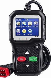 Romacci OBDII CAN Ferramenta de diagnóstico Car Code Reader KW680 Engine Light Scan Tool OBD II Scanner para carros desde ...