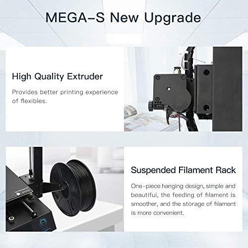 ANYCUBIC Mega S Impresora 3D Tamaño de impresión 210 x 210 x 205 mm Con Ultrabase calefactada Pantalla táctil de 3.5' Funciona con TPU/PLA/ABS