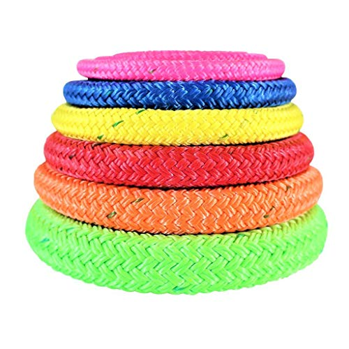 SGT KNOTS All Gear Arborist Bull Rope - Double Braid Core with Urethane Coating (5/8