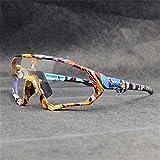 Original KAPVOE TR90 Hombres Mujeres Gafas de sol deportivas Fotocromáticas Polarizadas Nuevas gafas ciclismo correr Ciclismo al Adecuado para acampar todo tipo de formas de cara 15 colores (1)