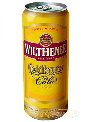Goldkrone und Cola 250 ml Dose