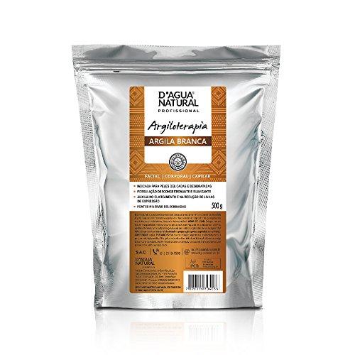 Argila Branca, D'agua Natural, 500 g