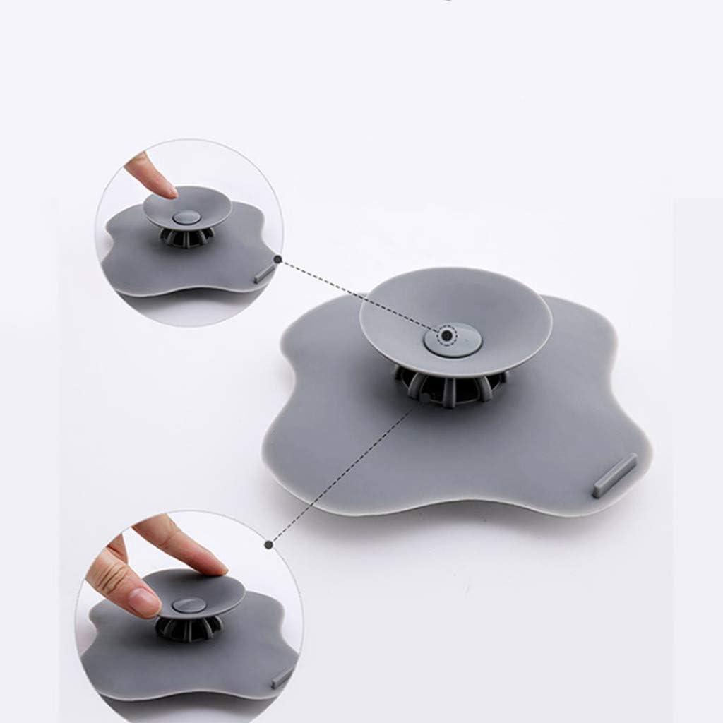 White Hair Catcher Durable Home Living Floor Drain Hair Stopper Hair Stopper Shower Drain Covers
