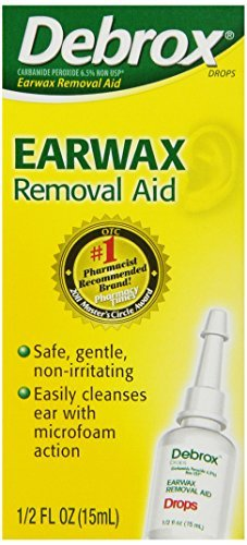 Debrox Max 81% OFF Earwax sale Removal Drops 0.5 Fluid Buy Packs - SAV Ounce and