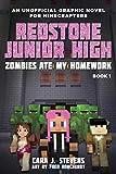zombies ate my homework: redstone junior high #1 (english edition)