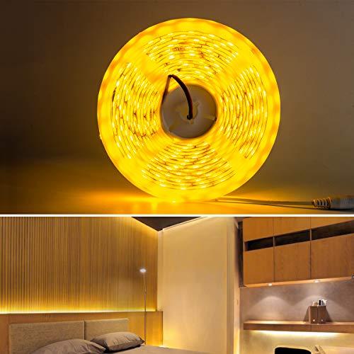 LED Streifen 5M, 5050 SMD LED Beleuchtung LED Unterbauleuchte für Schrank Bücherregal Schrank Deko Lichter