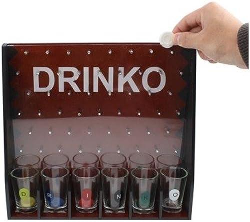 punto de venta Jeu à à à boire - Drinko Shot Game - Livré Avec 6 verres  precios razonables