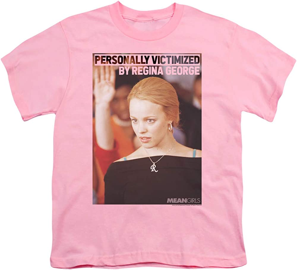A&E Designs Mean Girls Kids T-Shirt Regina George Victim Pink Tee