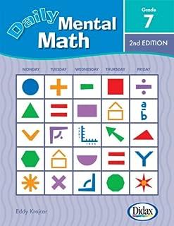 Daily Mental Math, 2nd Edition (Grade 7)