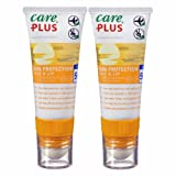 Care Plus Sun & Ski Sonnencreme und Lippenpflegestift Twin Pack–LSF 50