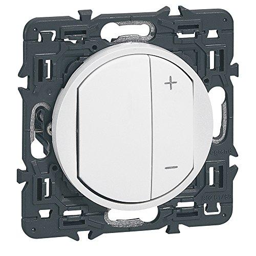 Legrand 099735 Interrupteur Variateur Celiane, 300W, Blanc