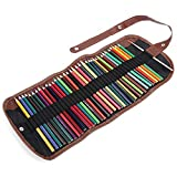 Matita Colorata per Studenti, 36 matite Colorate, con Borsa in Tela + Pennello per Scrivere, disegnare per Adulti e Bambini
