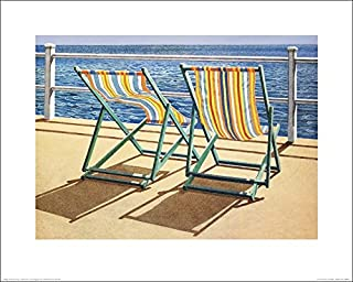 The Art Group Jonathan Sanders (Summer Breeze) Art Print, Paper, Multi-Colour, 40 x 50 x 1.3 cm