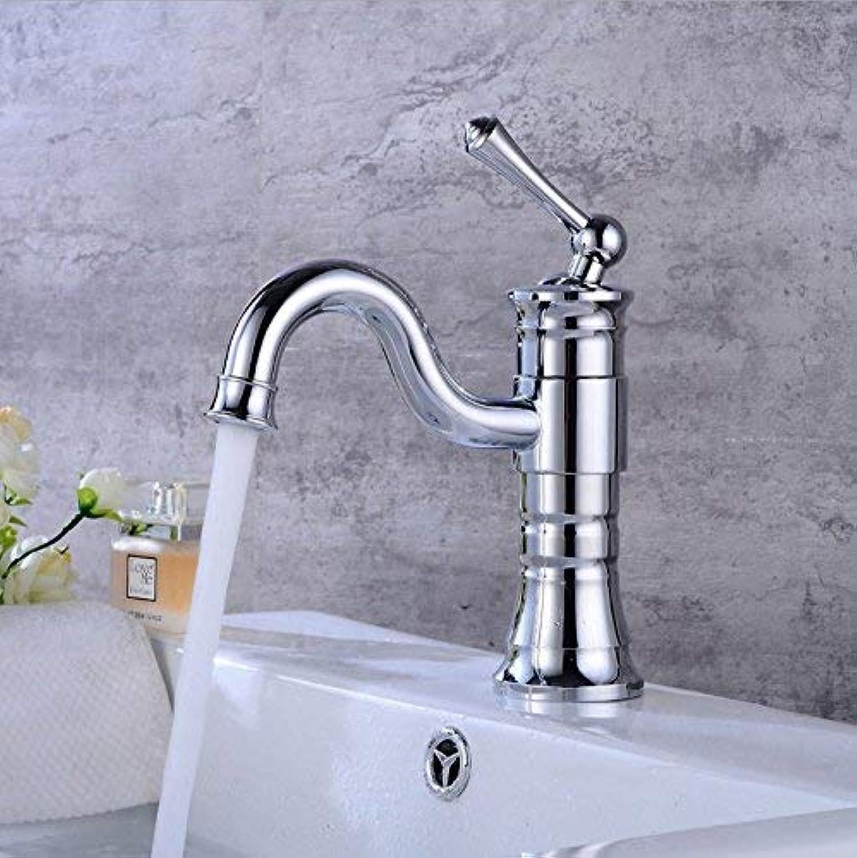 ZHAS Wasserhahn verzinkt Wasserhahn Unterbau Wasserhahn Bad Schwenker Wasserhahn Waschbecken heien und kalten Wasserhahn Einloch Wasserhahn Wasserhahn Waschbecken Wasserhahn einzigen Wasser