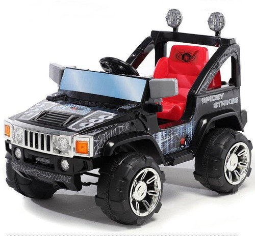 Jeep Hama 12 V RC schwarz Kinderauto Kinderelektroauto Kinderelektrofahrzeug 12 V RC R/C Quad buggy Kindermotorrad