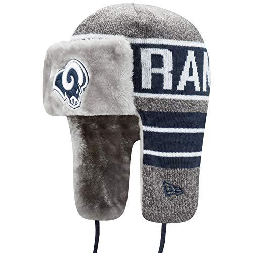 New Era Wintermütze Frosty Trapper - Los Angeles Rams