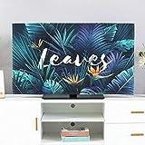 catch-L TV Cover TV LCD Copertura Antipolvere Desktop Coperchio Display del Computer Telo di Copertura (Color : Birds of Paradise, Size : 40-43inch)
