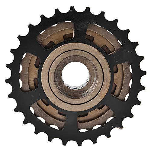 Keenso Volano per Bicicletta da Montagna, pignone per Cassetta a Ruota Libera per Bicicletta Accessorio di Ricambio per Mountain Bike a 7 velocità