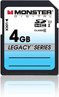 Monster Digital SDHC Full Size SD Memory Card Series (SDFSA-0004-L) Black 4