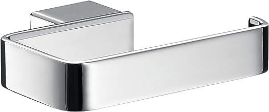 Emco Loft toiletpapierhouder, chroom, wc-papierhouder, zonder deksel, rolhouder, papierhouder, wandmontage - 5000101