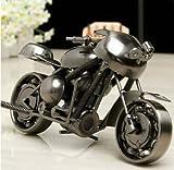 Modèle de moto de fer d'EQLEF Creative accessoires de photographie d'ornements...