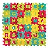 LUDI – Tapis de sol Lettres et chiffres, dès 10 mois. Puzzle géant. Lot de...