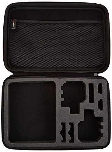 Media Mod for (HERO8 Black) - Official GoPro Accessory & Amazon Basics GoPro Carrying Case - Large